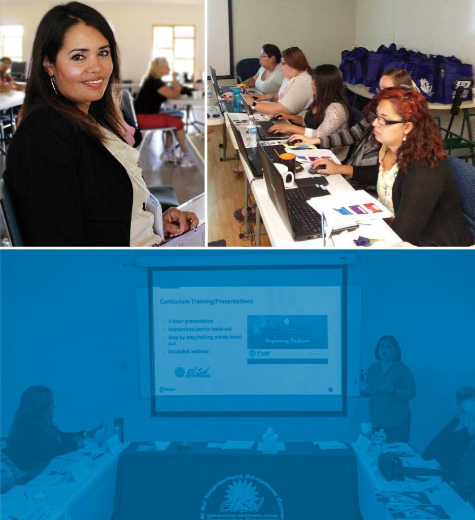 El Sol Members participating at the training center in San Bernardino